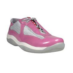 pink and purple pradas sneakers