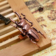 PARA V 0.92 - pieza 1.04 - envio HAY EN 3 COLORES: DORADO, COBRE Y PLATA Aliexpress.com : Buy Europe and the United States vintage Beetle ring jewelry!  from Reliable ring fashion jewelry suppliers on Beadia Store...