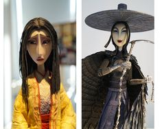 Conheça a arte do filme Kubo and the Two Strings, da Laika | THECAB - The Concept Art Blog