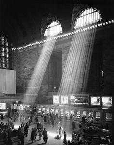 Brassaï, Grand Central Station, New York, 1957.
