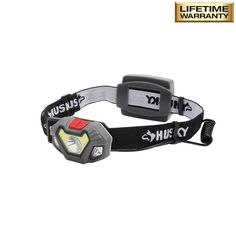 Walk and bike more safely with this Husky LED Dual beam Unbreakable Headlight. Provides durability and allows for all weather operation. Projector Headlights, Emergency Lighting, Power Led, Beams, Outdoor Power Equipment, Husky, Tools, Products, Instruments