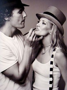 Matthew Mcconaughey+Kate Hudson= totally adorable