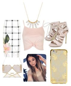 """""""salida """" by yarlin-perez on Polyvore featuring Ted Baker, Topshop, BaubleBar, Carvela and River Island"""