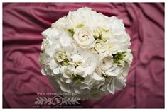 White flowers for the big day. White Flowers, Big Day
