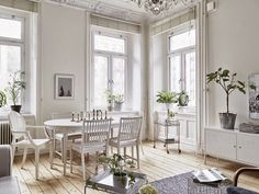 Dreamy heirloom Scandinavian apartment | Daily Dream Decor