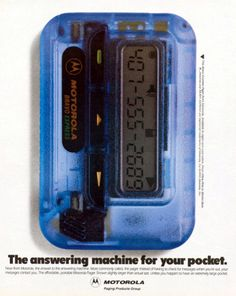 Wow. I never got one. Always wanted one. My parents would say there's only two ppl that carry pagers, doctors and drug dealers. At the same it was mostly true lol.