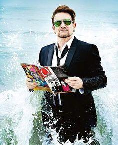 I ❤️'d Bono's mullet -(& everything else about him & U2 Band, Bono Vox, U2 Songs, Christophe Adam, Paul Hewson, Irish Rock, Larry Mullen Jr, The Power Of Music, Best Rock