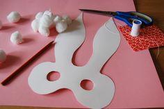 Easter craft -- Bunny Masks