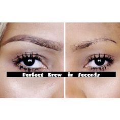 How To | Perfect Eyebrow in Seconds ♡