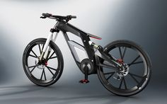 Cool Audi ebike. Not too sure what they were thinking about saddles. Perhaps they should stick to cars:)