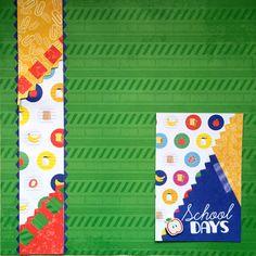 Creative Memories Study Buddies Scrapbooking Collection #creativememories #scrapbooking #studdybuddies #schooldays #backtoschool www.creativememories.com