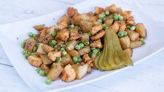 Csicsóka brassói - Receptek | Ízes Élet - Gasztronómia a mindennapokra Polenta, Kung Pao Chicken, Ethnic Recipes, Food, Essen, Meals, Yemek, Eten