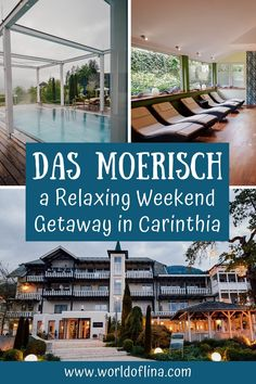 The beautiful family-run wellness & golf hotel Das Moerisch is located at Lake Millstatt in the southern Austrian state of Carinthia. If you want to get pampered, the 4-star superior hotel is the perfect address for a relaxing weekend getaway! #dasmoerisch #carinthia #austria #hotel #wellness #spa | Austria Travel | Explore Carinthia | Where to Stay in Carinthia | Wellness Hotels in Austria | Austrian Hotels | Europe Travel | Wellness Hotels in Carinthia Europe Travel Guide, France Travel, Travel Guides, Visit Austria, Austria Travel, Beautiful Hotels, Beautiful Family, Austria Destinations, Superior Hotel
