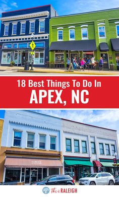 18 Cool Things To Do in Downtown Apex, NC (eat, shop, play)
