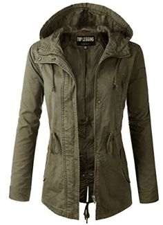 I absolutely LOVE a good green military jacket! TOP LEGGING TL Women's Military Anorak Parka Hoodie Jackets with Drawstring This women's jacket is perfect! Anorak Jacket, Hoodie Jacket, Parka Jackets, Outerwear Jackets, Cargo Jacket, Suit Vest, Utility Jacket, Fall Jackets, Best Parka