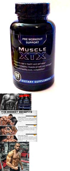 Sports Vitamins and Minerals: Muscle Xtx Testosterone Boost Pre Cut Ripped Max Muscle Tongkat Ali, Boron 60 BUY IT NOW ONLY: $98.79 #TongkatAli
