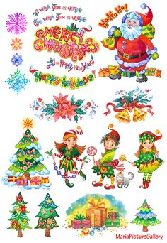 christmas watercolor clipart, christmas elf clipart, christmas tree clipart, christmas sign, elf, new year clipart, santa claus clipart, christmas for kids, snowflakes clipart Elf Clipart, Santa Claus Clipart, Christmas Tree Clipart, Merry Christmas, Christmas Signs, Christmas Crafts, Watercolor Clipart, New Year Clipart, Xmas Cards