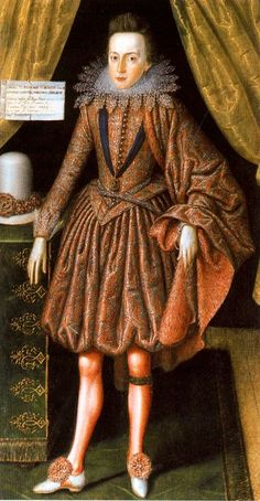 Robert Peake portrait of the future Charles I, 1610 - (University of Cambridge)