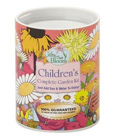 Take a look at this Children's Garden Can by Gifts That Bloom on #zulily today!