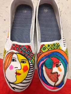 Picasso shoes!
