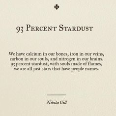FF - fascinating but false. Pure nonsense. We are of the dust of the ground and made in God's image. We were never stardust.