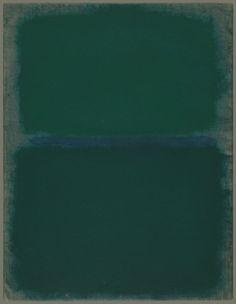 Mark Rothko, Untitled, 1967, Acrylic on white wove paper mounted on masonite, 652 x 502 mm