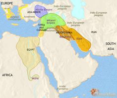 history map of Middle East 2500BC Ancient NearEast Pinterest