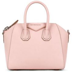 Givenchy Goes Back to the Classics for Summer 2016 Bags-Check Out the... ❤ liked on Polyvore featuring bags, handbags, givenchy bags, givenchy handbags, leather bags, leather purses and pink handbags