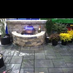 A sneak peek at our water feature for the Hanover Builders' Home & Garden Show.