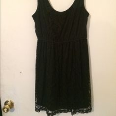 Just InXai LBD for Urban Outfitters Adorable Little Black Drees by Kai, full lace overlay, round neckline, sleeveless, elastane waist, pull over style, excellent condition worn twice Urban Outfitters Dresses Mini