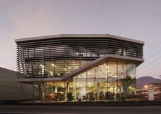 modern commercial interior architecture  | Modern Commercial Architecture Of Blass General Partnership Office ...