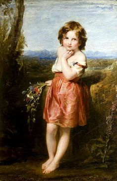 19th Century French Nude Boy & Lizard Antique Oil Painting A A ...