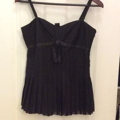 NWT MARC BY MARC JACOBS BLACK TOP SIZE 6 Beautiful and intricate design. Marc by Marc Jacobs NWT Black top Size 6 Marc by Marc Jacobs Tops