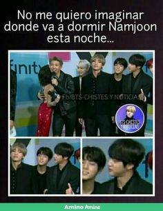 Thes boys are the masters of respect .. just look at namjoon. Not to mention jin probably made him sleep on the floor that night