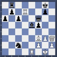 Chess & Strategy Dieppe tournament tactic. White to move and win. How should white proceed? More exercises on www.echecs-et-strategie.fr