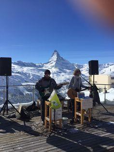 Safe and #sound after the #powder #snow #live #music #matterhorn