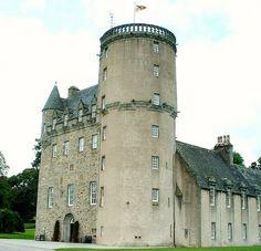Castle Fraser Grampian, Scotland