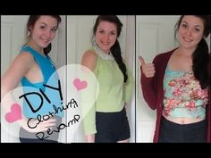 DIY: Revamp Your Old Clothes! (NO SEW) - YouTube