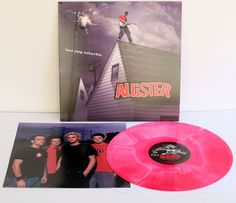 ALLISTER last stop suburbia Lp Record COLORED SWIRL Vinyl with lyrics insert #PUNKEmoPunkNewWave
