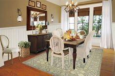 Dining room idea. Love the colors and the cozy feel. Right now my dining room is a play room :)
