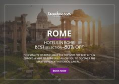 BOOK NOW: http://www.traviboo.com/hotels_rome
