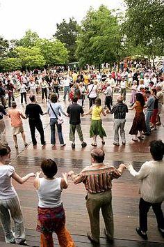 Spectacle de danse sur chasses et danses traditionnelles for Noz aquitaine