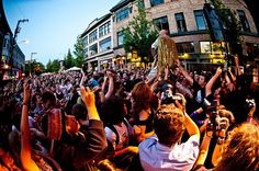 The Capitol Hill Block Party is one of Seattle's largest neighborhood festivals.