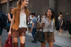17 street style photos from New York Fashion Week #NYFW