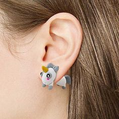 Exclusive Magical Unicorn Earrings by GeekyGet on Etsy