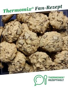 Mandelwölkchen (Weihnachtsplätzchen) Almond Clouds (Christmas Cookies) by A Thermomix ® recipe from the category baking sweet www.de, the Thermomix ® community. Baking Recipes, Cookie Recipes, Dessert Recipes, Valentines Baking, Biscuits, Baking With Kids, Thanksgiving Recipes, Cooking Time, Easy Desserts