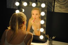 A lighted vanity mirror table is onevery girl's wish list. It is usually seen onfashion television shows where a makeup artist works with models in front of mirrors surrounded by…