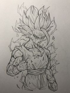 Anime Drawings Sketches, Dragon Ball Z, Naruto, Fantasy, Places, Artwork, Black White Photos, Things To Draw, Drawing Ideas