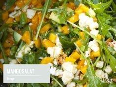 Mango-Mozzarella-Avocado-Salat - Julia Blogt