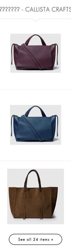 """""""ΤΣΑΝΤΕΣ - CALLISTA CRAFTS"""" by harikleiatsirka ❤ liked on Polyvore featuring bags, handbags, tote bags, handbags totes, iris totes, tote hand bags, tote purses, brown tote, blue totes and tote handbags"""